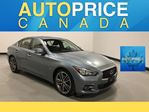 2015 Infiniti Q50 NAVIGATION|REAR CAM|LEATHER in Mississauga, Ontario