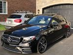 2017 Mercedes-Benz E-Class AMG 43 4MATIC, 3.0L biturbo V-6 in Mississauga, Ontario