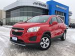 2015 Chevrolet Trax LT AWD SUNROOF ALLOYS REAR CAMERA LOW KMS in Orillia, Ontario