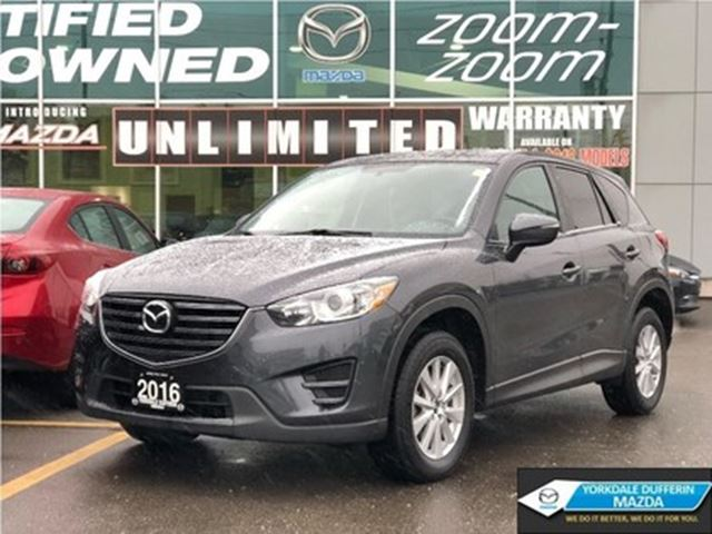 2016 MAZDA CX-5 GX, AWD, ALLOYS, BLUETOOTH, ACCIDENT FREE in Toronto, Ontario