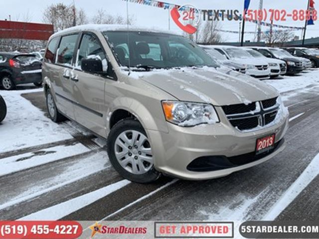 2013 DODGE Grand Caravan SE   APPLY AND GET APPROVED TODAY in London, Ontario
