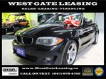 2012 BMW 1 Series CONVERTIBLE  NAVIGATION  AUTOMATIC  in Vaughan, Ontario