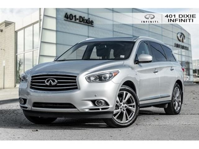 2015 INFINITI QX60 TECH PACKAGE! DVD! BLIND SPOT!LANE DEPART! in Mississauga, Ontario