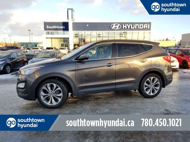 2014 HYUNDAI Santa Fe SE/2.0T/PANO ROOF/LEATHER/BACKUP CAM in Edmonton, Alberta