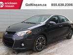 2014 Toyota Corolla S: SUNROOF, BLUETOOTH, HEATED SEATS in Edmonton, Alberta