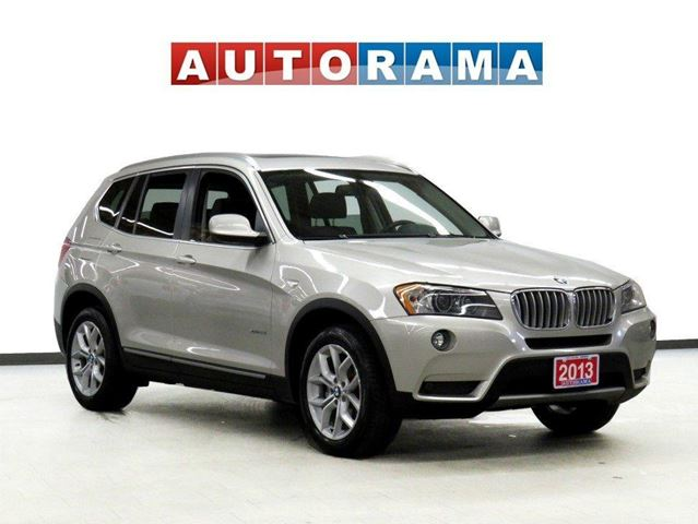 2013 BMW X3 xDrive28i NAVIGATION PANORAMIC SUNROOF LEATHER AWD in