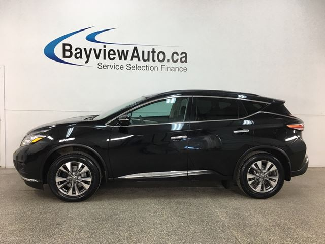 2015 NISSAN MURANO SV - PANOROOF! PUSH START! BLUETOOTH! HTD SEATS! PWR LIFTGATE! in Belleville, Ontario