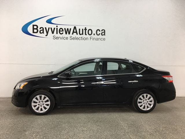 2014 NISSAN SENTRA 1.8 SV - PUSH START! BLUETOOTH! CRUISE! A/C! PWR GROUP! in Belleville, Ontario
