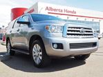 2016 Toyota Sequoia Platinum iForce V8. 4WD w/RES. Clean Carproof. Low Kms. Sunroof. Back-up Camera. HomeLink. Dual Climate in Edmonton, Alberta