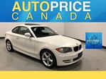 2011 BMW 1 Series MOONROOF|XENON|LEATHER in Mississauga, Ontario