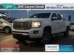 2017 GMC Canyon DENALI/SUNROOF/DIESEL/HD TRILR PKG/HTD STS in Milton, Ontario