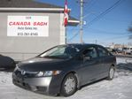2009 Honda Civic AUTO,AC,CRUISE,139KM,12 M WRT,SAFETY $6190 in Ottawa, Ontario