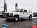 2015 Chevrolet Silverado 1500 Crew Cab 4x4 ~5.3L V8 ~Trailer Tow Package in Barrie, Ontario
