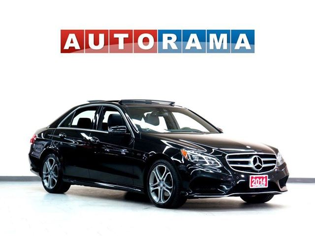 2014 Mercedes-Benz E-Class E350 4MATIC NAVIGATION LEATHER SUNROOF AWD in
