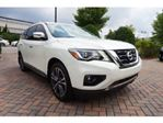 2017 Nissan Pathfinder Platinum, AWD, 7P, Full Extended Warranty + Wear Protection in Mississauga, Ontario
