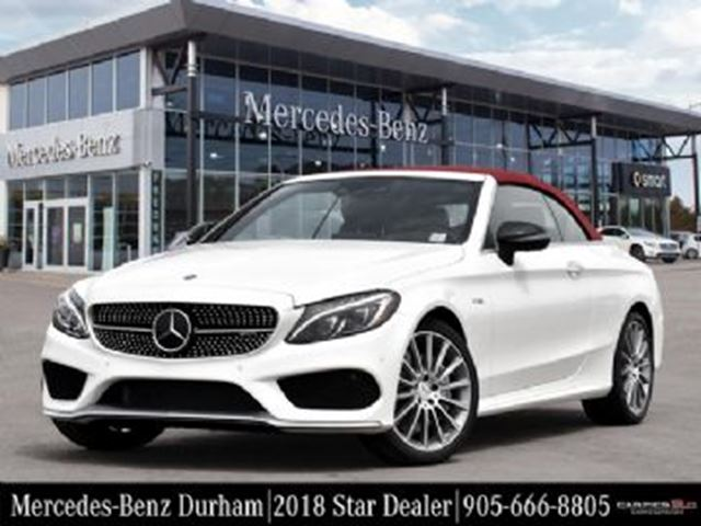 2018 MERCEDES-BENZ C-Class C43 Convertible in Mississauga, Ontario