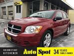 2008 Dodge Caliber SXT/LOW,LOW KMS/PRICED-QUICK SALE! in Kitchener, Ontario