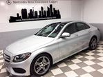 2015 Mercedes-Benz C-Class 4MATIC Sedan in Calgary, Alberta