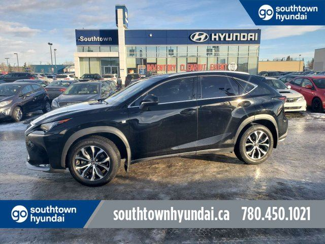 2015 LEXUS NX 200t F-SPORT/NAV/SUNROOF/LEATHER in Edmonton, Alberta