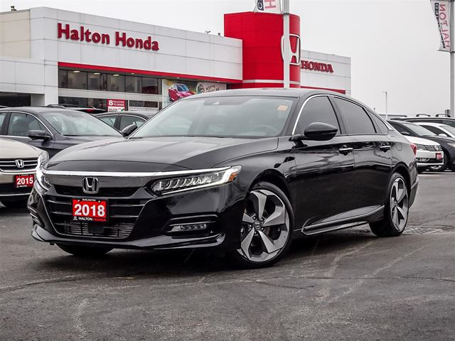 2018 HONDA Accord TOURING 2LDealer Demonstrator, Used Car in Burlington, Ontario