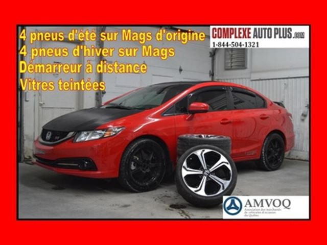 2015 Honda Civic Sedan Si *Navi/GPS,Toit, 8 pneus/8 mags! in