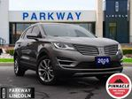2016 Lincoln MKC AWD  LEATHER  GPS  BLUETOOTH  ACCIDENT FREE in Waterloo, Ontario