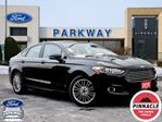 2015 Ford Fusion SE FWD  2.0L  LEATHER  GPS  NO ACCIDENTS in Waterloo, Ontario