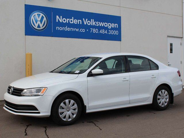 2017 VOLKSWAGEN JETTA  TRENDLINE AUTO W/ CONNECTIVITY PACKAGE in Edmonton, Alberta