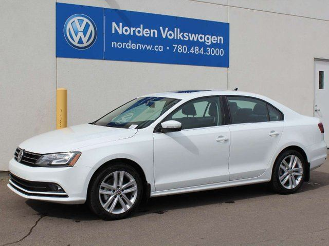 2017 VOLKSWAGEN JETTA  HIGHLINE AUTO W / TECH. PACKAGE in Edmonton, Alberta