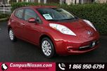 2015 Nissan Leaf  S  FWD w QuickCharge in Victoria, British Columbia