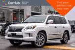 2015 Lexus LX 570 AWD Sunroof 7-Seater Backup Cam Keyless_Entry Nav Bluetooth 20Alloys in Thornhill, Ontario