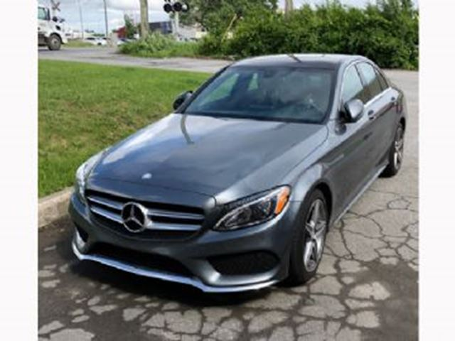 2017 MERCEDES-BENZ C-CLASS c300 sport package in Mississauga, Ontario
