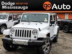 2018 Jeep Wrangler Unlimited SAHARA / NAV/ LEATHER/ REMOTE START in Mississauga, Ontario