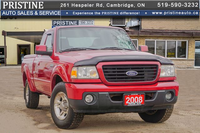 2008 Ford Ranger Sport SuperCab Accident & Rust Free Only 101km in