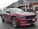 2018 Dodge Charger GT AWD, Heated/Vented Seats, Sunroof, Remote Start, Back Up Cam, Rear Sensors in Paris, Ontario