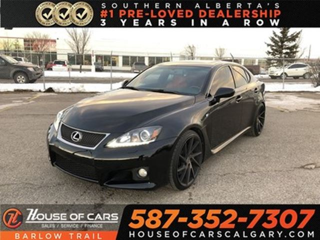 2013 LEXUS IS F Navi / Leather / Back up camera in Calgary, Alberta