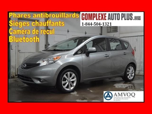 2014 Nissan Versa SL *Mags,Fogs,Camera recul, Bluetooth in
