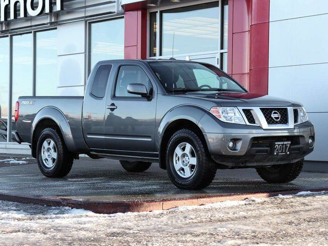 2017 Nissan Frontier Pro 4x King Cab Vernon British Columbia Car