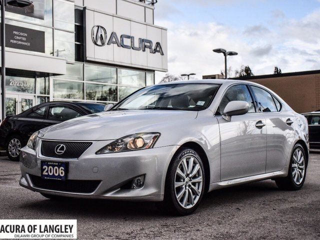 2006 LEXUS IS 250 RWD 6A in Langley, British Columbia