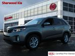 2015 Kia Sorento AWD LX Accident Free, Heated Seats, Bluetooth, A/C, - Used Kia Dealer in Sherwood Park, Alberta