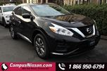 2017 Nissan Murano  S  FWD w Moonroof in Victoria, British Columbia