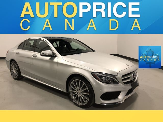 2015 MERCEDES-BENZ C-CLASS NAVIGATION|PANOROOF|LEATHER in Mississauga, Ontario