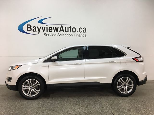 2018 Ford Edge Titanium - HTD LTHR! REMOTE START! SYNC! WIFI! REVERSE CAM! SONY STEREO! in