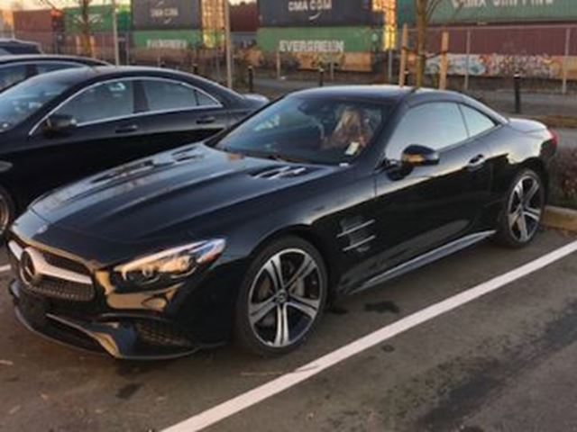 2018 MERCEDES-BENZ SL-CLASS SL 450 Roadster in Mississauga, Ontario