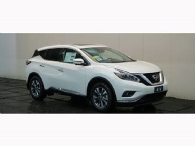 2018 NISSAN MURANO AWD SL with Navigation in Mississauga, Ontario