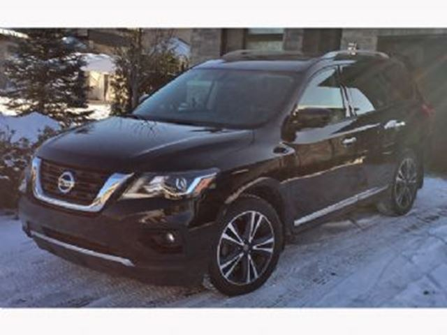 2017 NISSAN PATHFINDER PLATINUM -AWD-WEAR & TEAR PROTECTION in Mississauga, Ontario