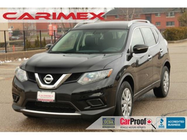 2014 Nissan Rogue S ONLY 48K   CERTIFIED in