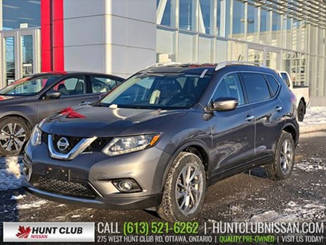 2014 Nissan Rogue SL AWD   Pano Moonroof, Leather Htd Seats in