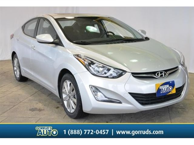 2016 HYUNDAI ELANTRA SPORT/NEW TIRES/BACK-UP/MOONROOF in Milton, Ontario