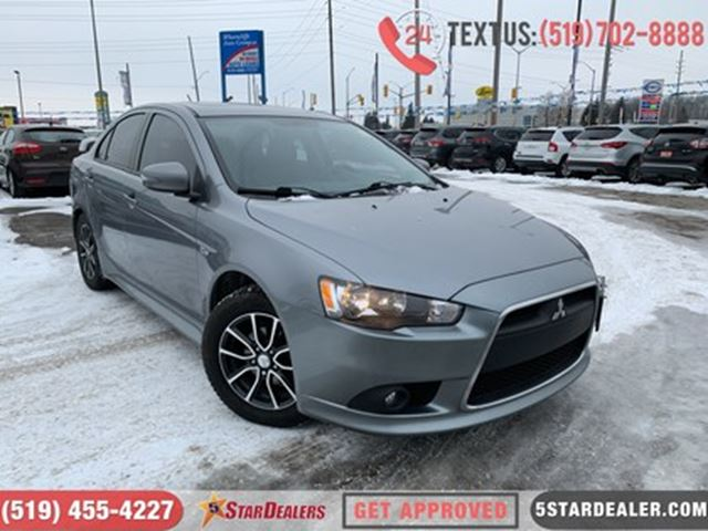 2015 Mitsubishi Lancer GT   LEATHER   ROOF   1OWNER in